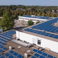 Zonnepanelen op Pallas Athene College in Ede